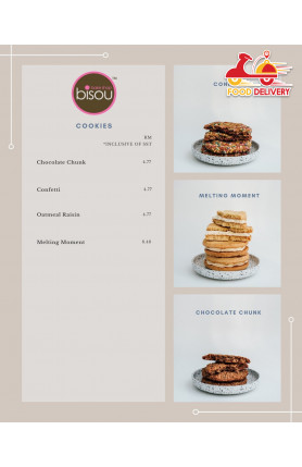 [FOOD DELIVERY] COOKIES - 1 DAY PRE-ORDER